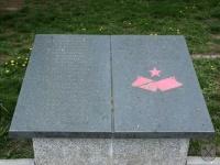 Pamětní deska osvoboditelům obce