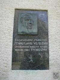 Pamětní deska Stanislavu Veselému
