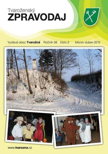 Tvaroženský zpravodaj číslo 2/2010