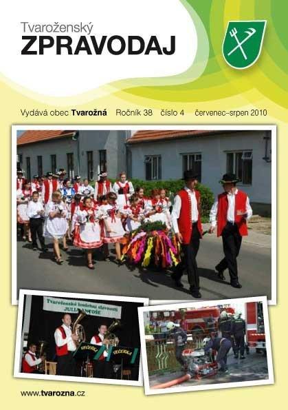 Tvaroženský zpravodaj číslo 4/2010