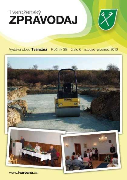 Tvaroženský zpravodaj 6/2010