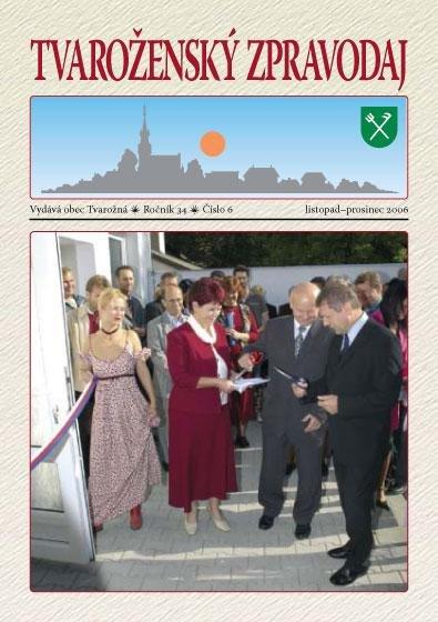 Tvaroženský zpravodaj 6/2006